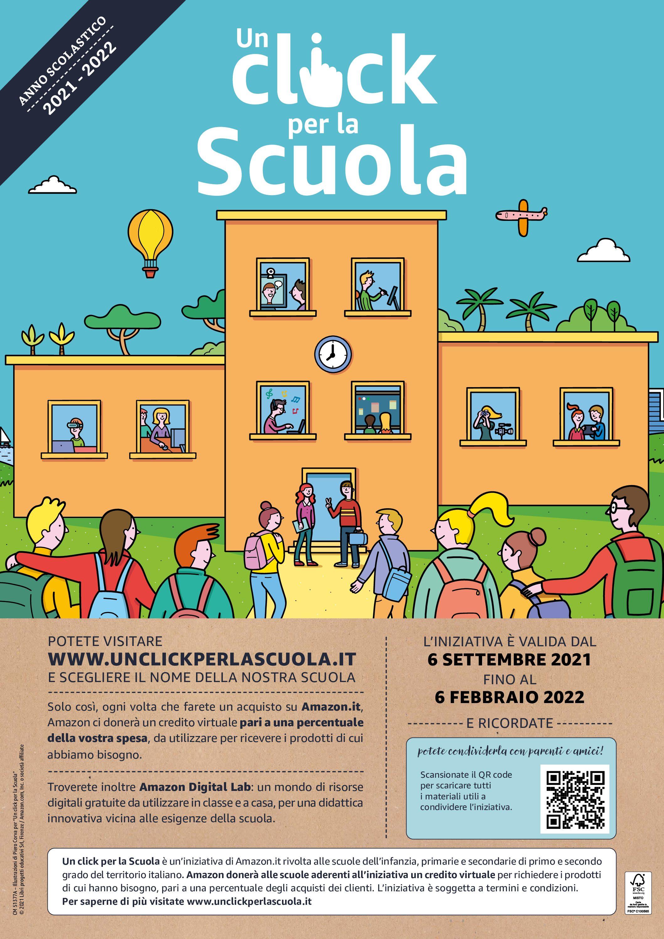 Read more about the article Un click per la scuola